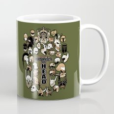 Helmets of fandom - respect the head! Mug