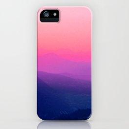 Como Sunset iPhone Case