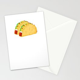 I'd Trade My Sister For a Taco! Funny Stationery Cards