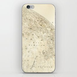 Antique Moon Map iPhone Skin