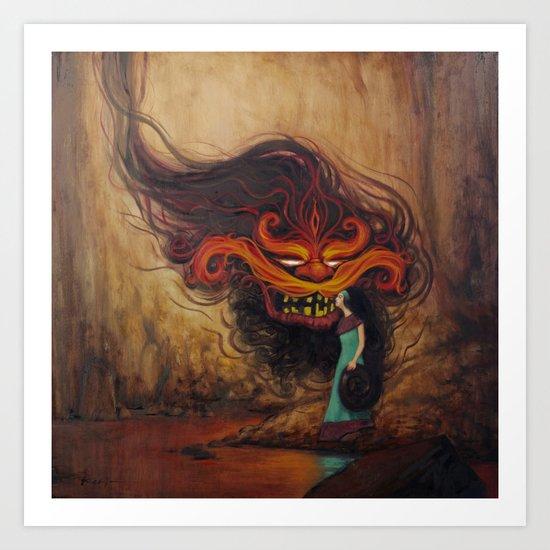 Love the Demon Art Print
