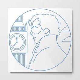 SherlockHolmes Metal Print