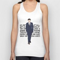 moriarty Tank Tops featuring James Moriarty by tookthat