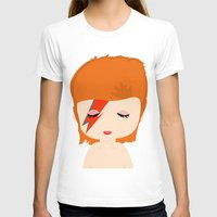 david bowie T-shirts featuring David Bowie by Creo tu mundo