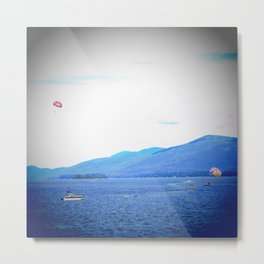 Summer in Lake George Metal Print