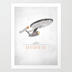 The Enterprise Art Print