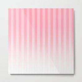 Gradient Stripes Pattern pw Metal Print
