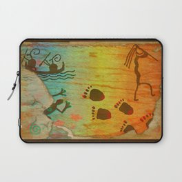 Cave Dwelling Native American Laptop Sleeve