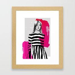 Valentino Framed Art Print