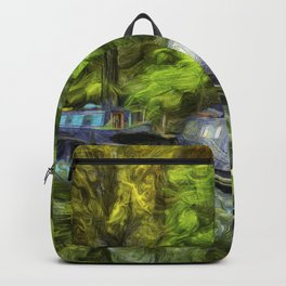 Little Venice London Art Backpack