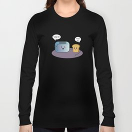 Toaster and Bread Long Sleeve T-shirt