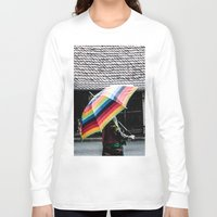 umbrella Long Sleeve T-shirts featuring umbrella by Deviens