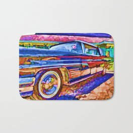 An Image of vintage car Bath Mat