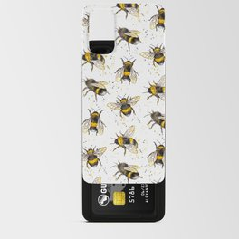 Fluffy Bumblebees (Pattern) Android Card Case
