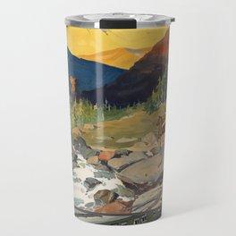 Vintage poster - National parks Travel Mug