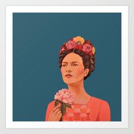 moi, Frida! Art Print