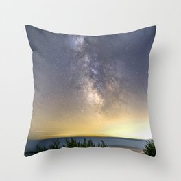 Milkyway Landscape Throw Pillow