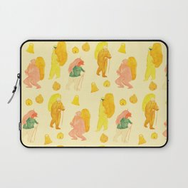 Mountain climbers - Vintage Laptop Sleeve