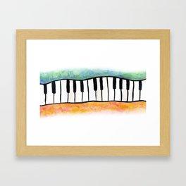 Keyboards Framed Art Print