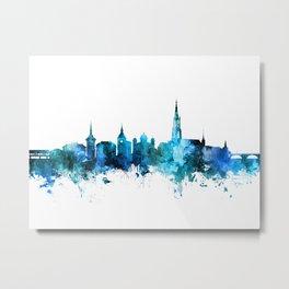 Bern Switzerland Skyline Metal Print