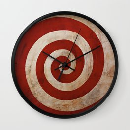 Sideshow Carnival Spiral Wall Clock