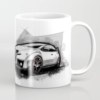 honda Mugs featuring Honda Civic Type-R by an.artwrok