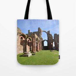 The Holy Island Priory Tote Bag