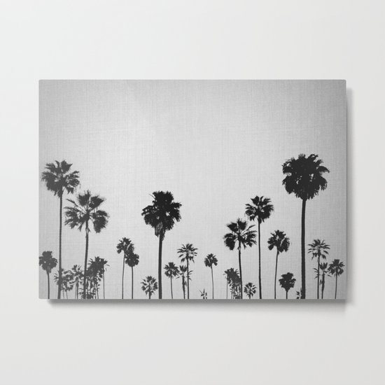 Palm Forest Metal Print