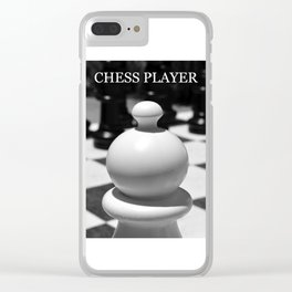 Chess Player Clear iPhone Case