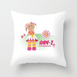 In Da Night Garden #1: Day-Z Throw Pillow