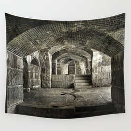 Casemate Carriage Wall Tapestry