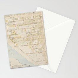 Vintage Atlantic City NJ Map (1896) Stationery Cards