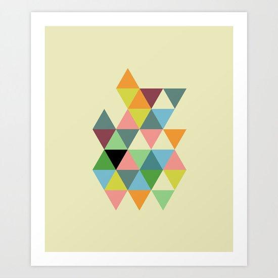 Abstract #585 Art Print
