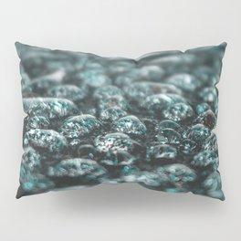 Water Droplets Pillow Sham