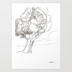 Let It Be Like Breathing Art Print