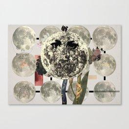 Mi luna Canvas Print