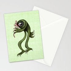 Monster is back  Stationery Cards