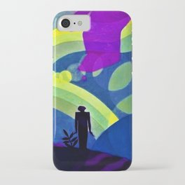 African American Masterpiece 'The Creation' by Aaron Douglas iPhone Case