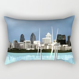 Fly: Go With The Wind Rectangular Pillow