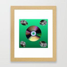 CD_R Framed Art Print