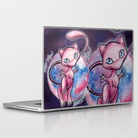 mew Laptop & iPad Skins featuring 151 - Mew by Lyxy