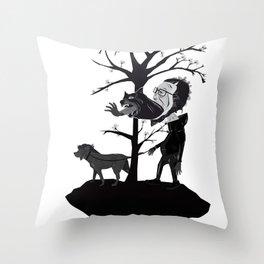 dogdays Throw Pillow