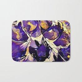 Purple Explosion Bath Mat