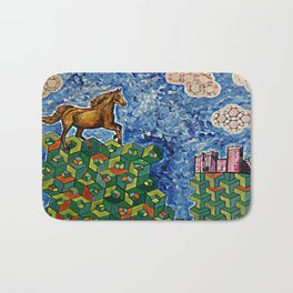 Little Girl's Dream Bath Mat