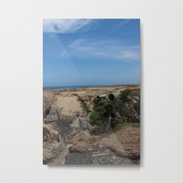 Trying to find Glass Beach at Fort Bragg, Northern California Metal Print