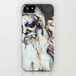 Old Men and Their Demons iPhone Case