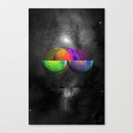 Venn Diameter Canvas Print