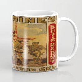 Vintage poster - Soldiers of the Sea Coffee Mug