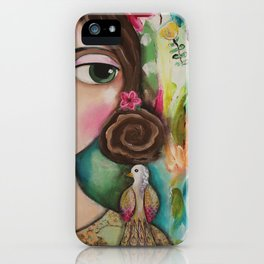 Out of the Darkness iPhone Case