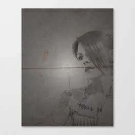 Longing Canvas Print